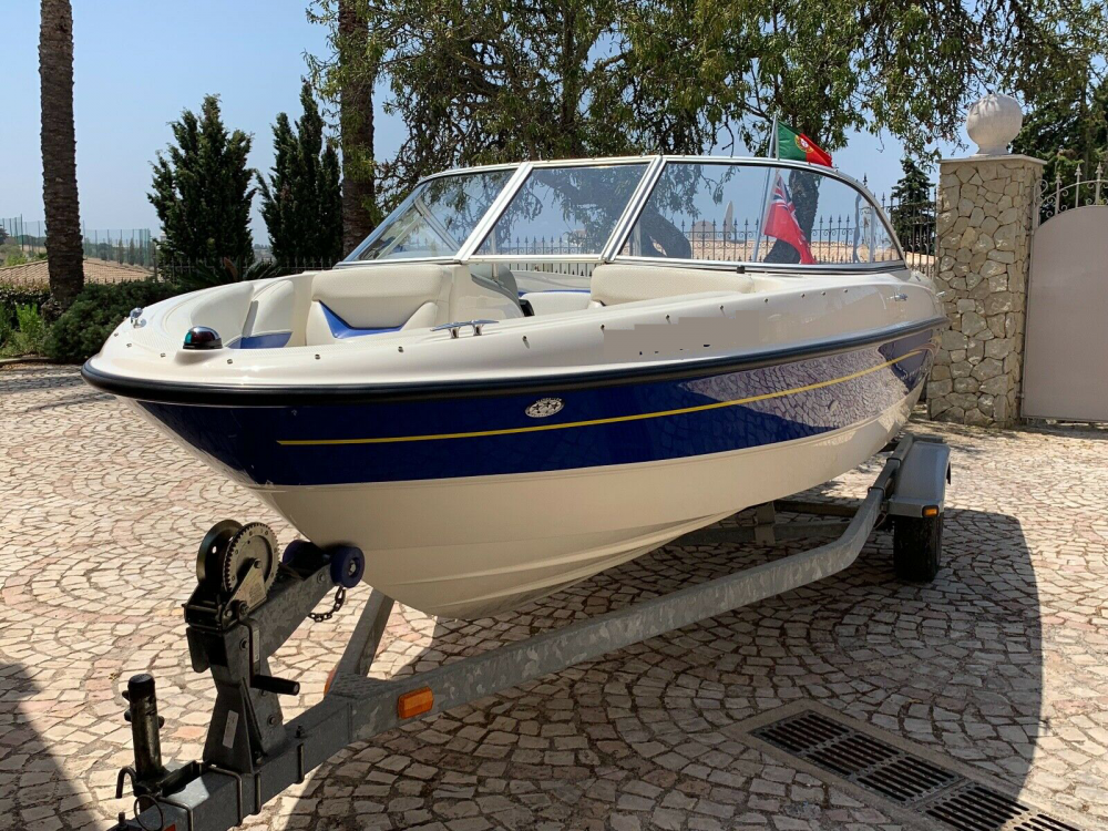 Bayliner 185 BR between personal and professional Lisbon