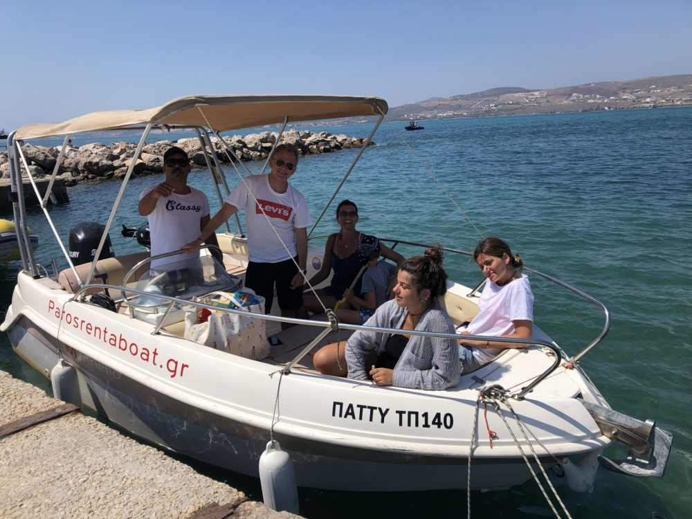 Hire Motor boat with or without skipper Marinello Aegean