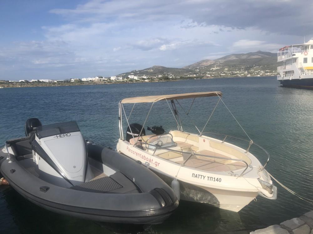 Boat rental Marinello marinello 18 eden evoluzione in Aegean on Samboat