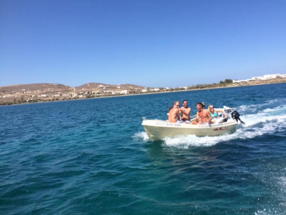 Rental yacht Aegean - Karel Open 455 on SamBoat