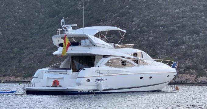 Rental yacht Alicante - Sunseeker Manhattan 64 on SamBoat