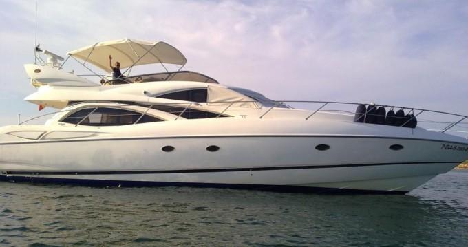 Boat rental Sunseeker Manhattan 64 in Alicante on Samboat