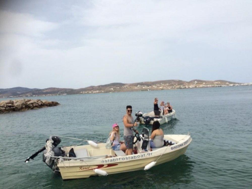 Rental Motor boat in Aegean - Karel Open 455