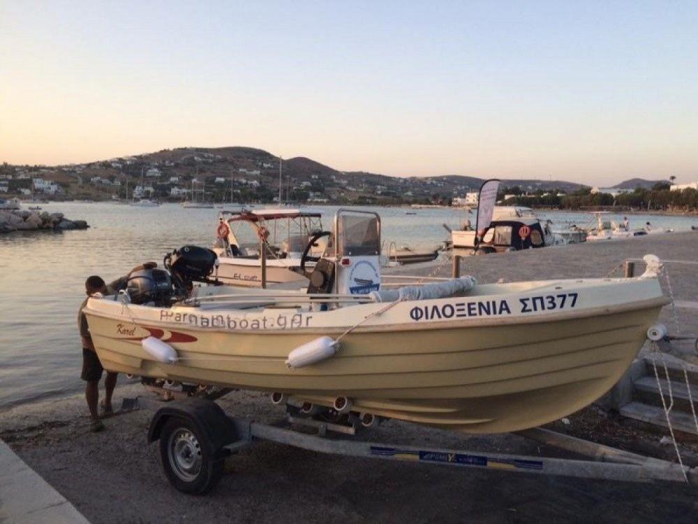 Boat rental Karel Open 455 in Aegean on Samboat