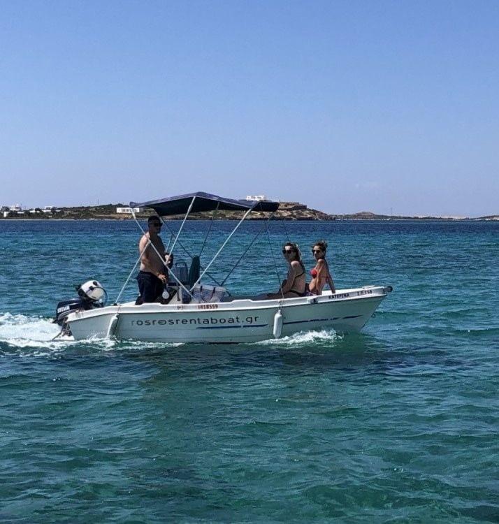 Rental Motor boat Nireas  with a permit