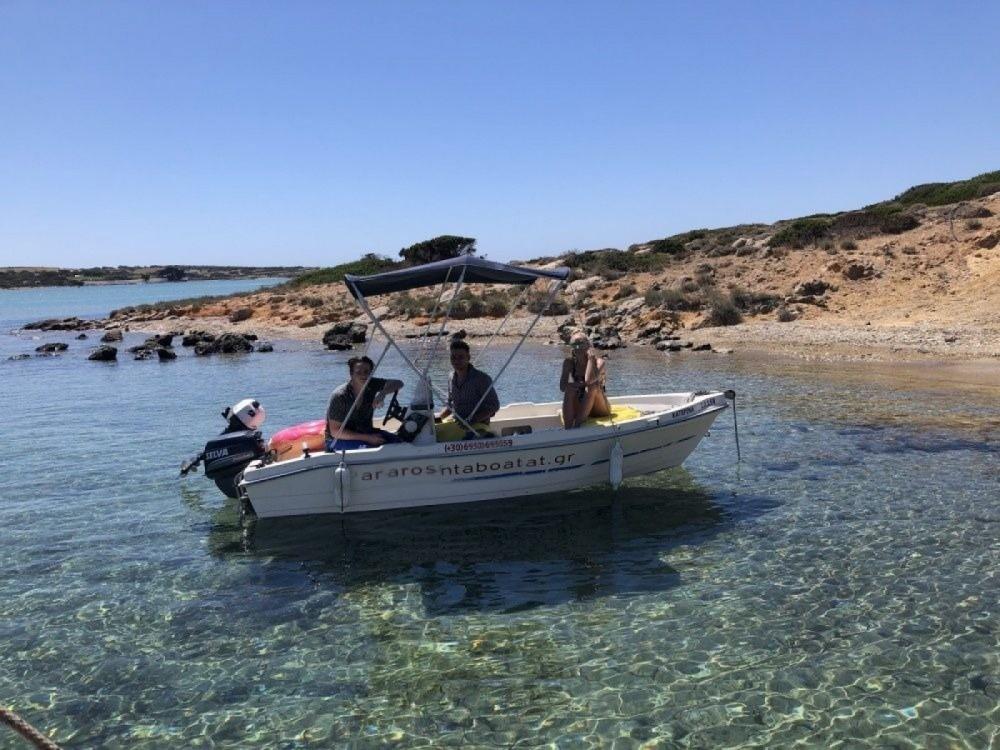Boat rental Aegean cheap 455 open