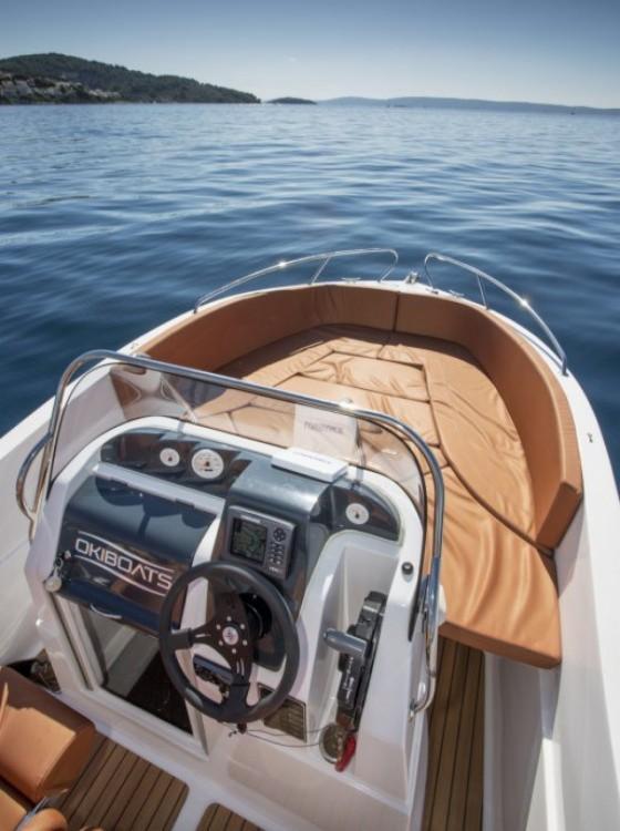 Boat rental Okiboats Barracuda 545 Open in Dubrovnik on Samboat