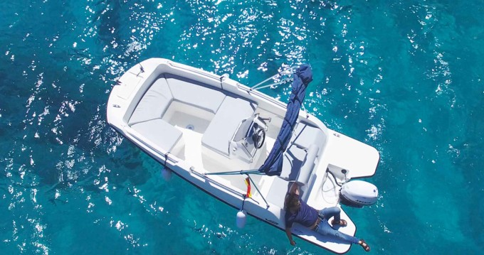 Rental Motorboat V2 BOATS with a permit