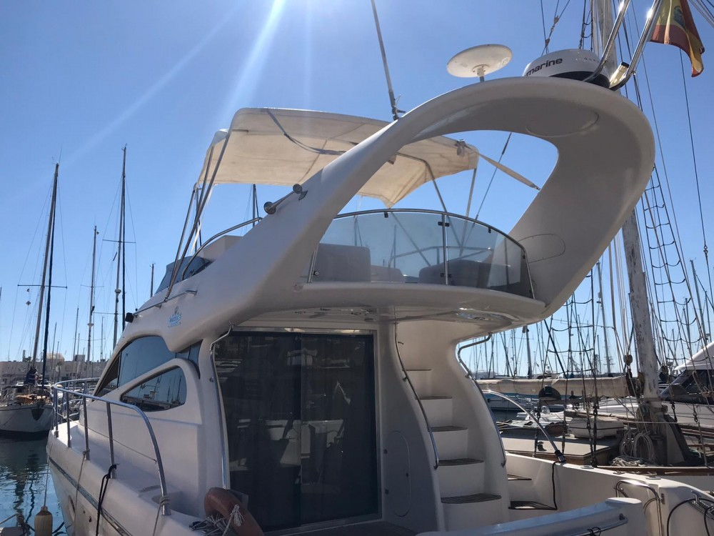 Boat rental Alicante cheap Majestic 420