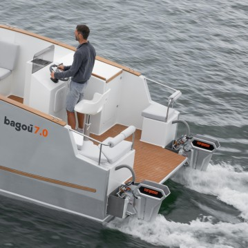 Rental Motorboat in Lorient - BAGOU BOATS BAGOU 7.0