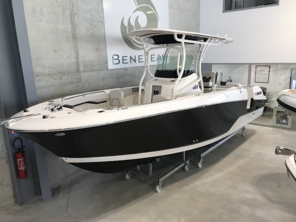 Rental Motor boat Wellcraft with a permit