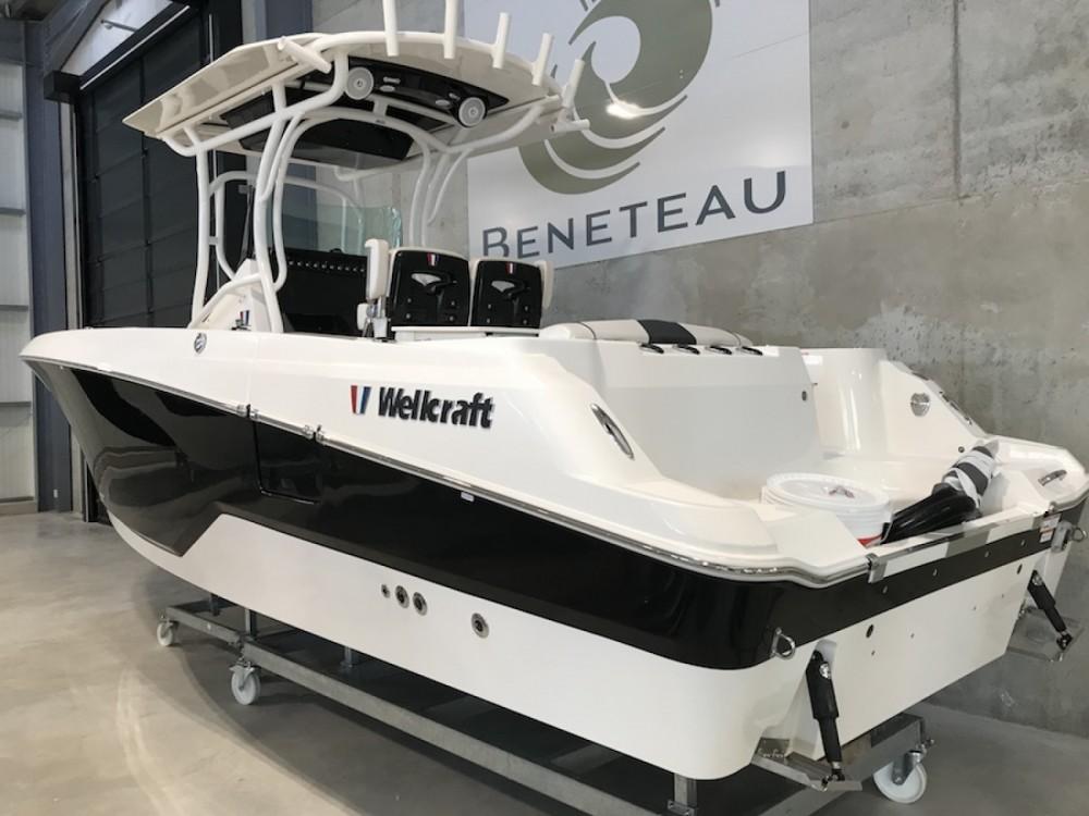 Boat rental Ajaccio cheap Fisherman 262