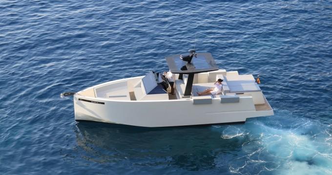 Rental Motorboat DE ANTONIO Yachts with a permit