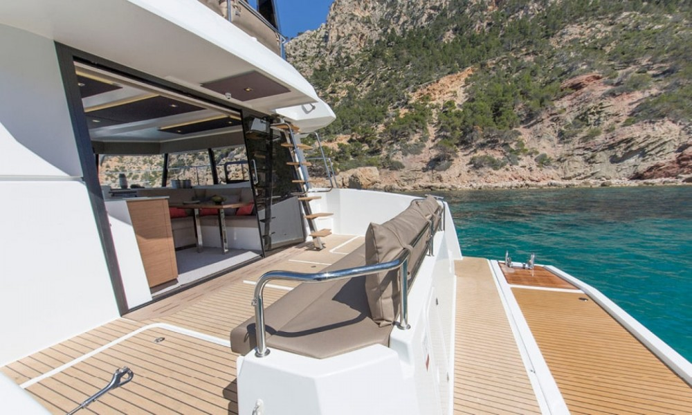 Fountaine Pajot My 37 between personal and professional Ajaccio