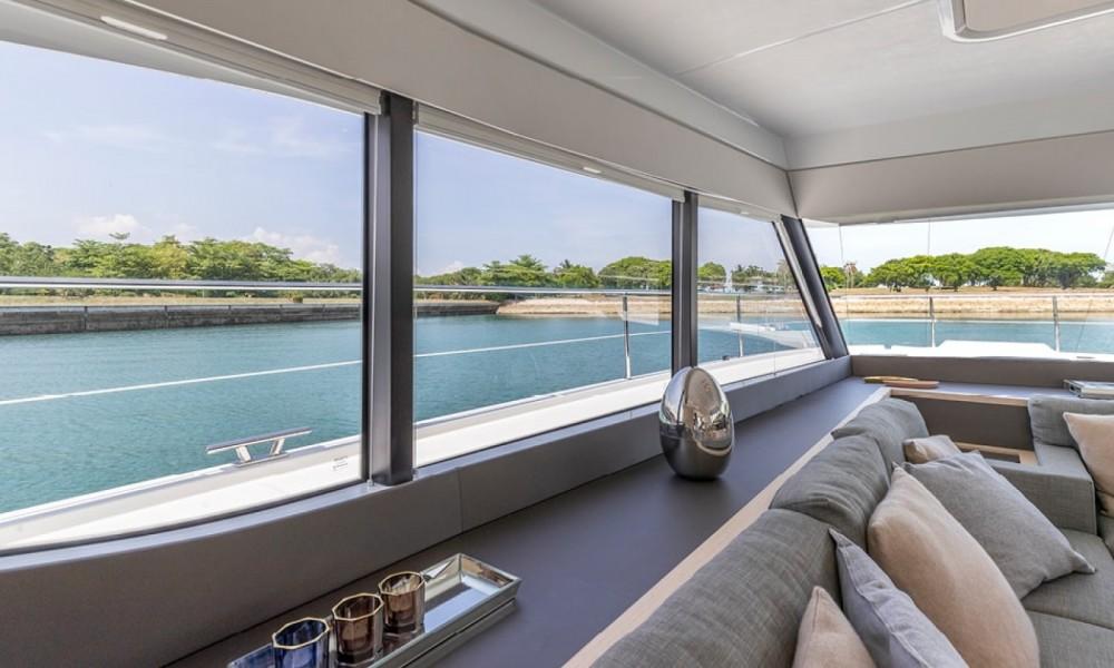 Rental Catamaran in Ajaccio - Fountaine Pajot MY 40