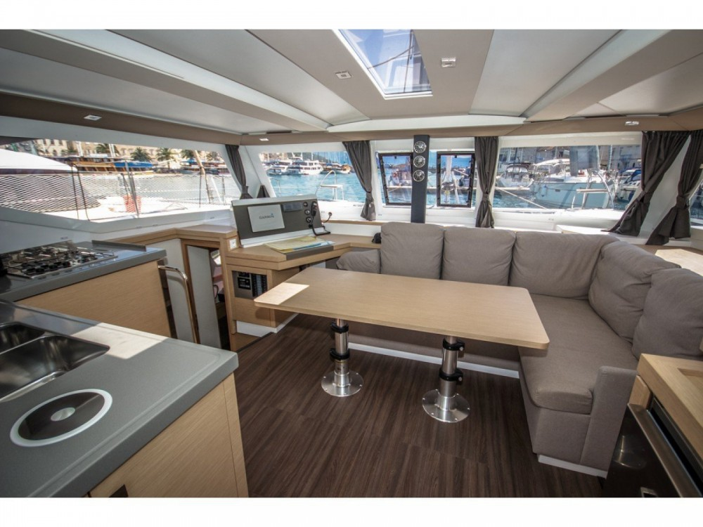 Fountaine Pajot Lucia 40 between personal and professional Ajaccio