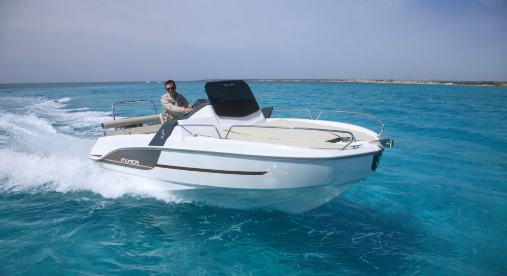 Hire Motor boat with or without skipper Bénéteau Palamós
