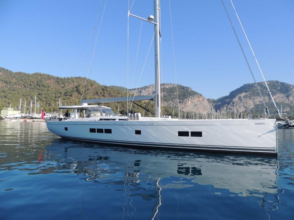 Rental Sailboat in Muğla - Hanse Hanse 675 - 3 cab.