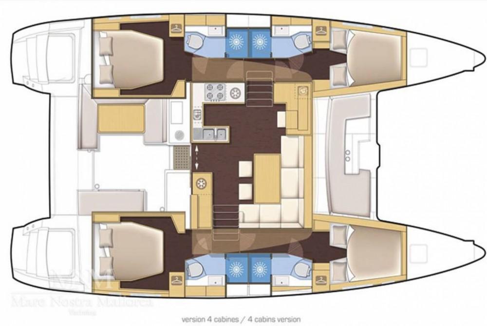 Boat rental Sari-Solenzara cheap Lagoon 450 Sport Top