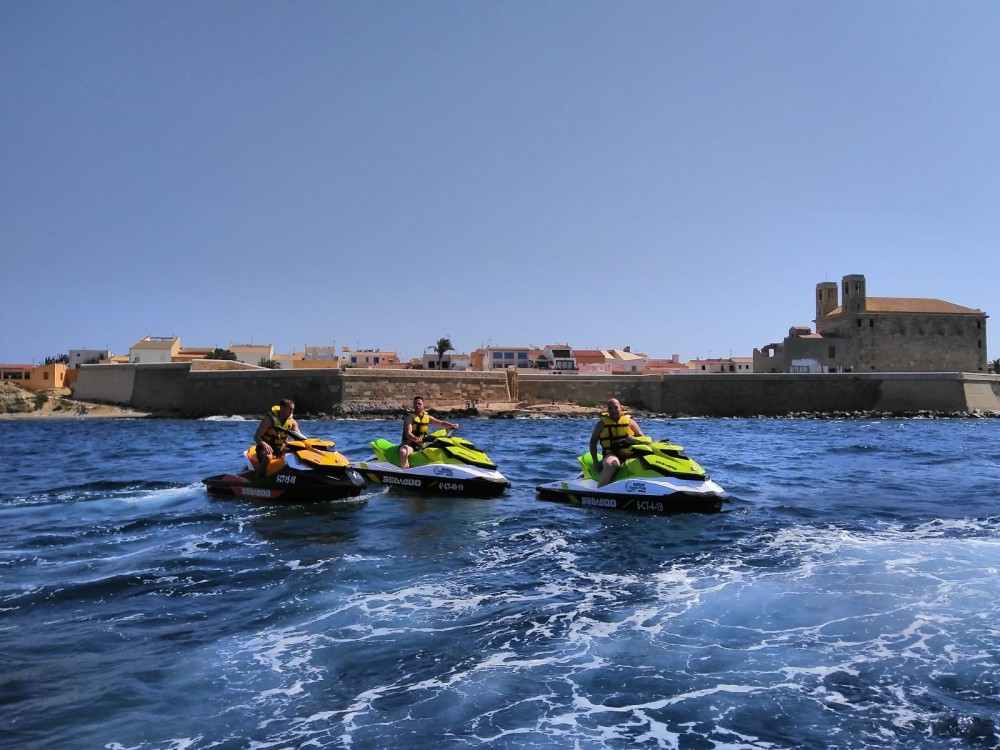 Hire Jet Ski with or without skipper Seadoo Santa Pola