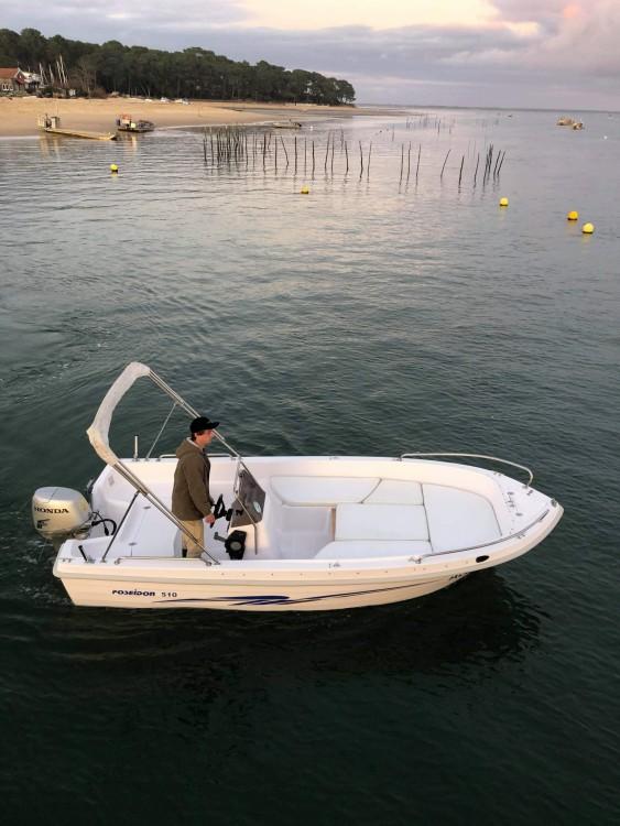 Rental Motor boat in Lège-Cap-Ferret - Poseidon 510 T