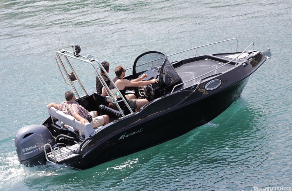 Hire Motor boat with or without skipper nireus Aegean