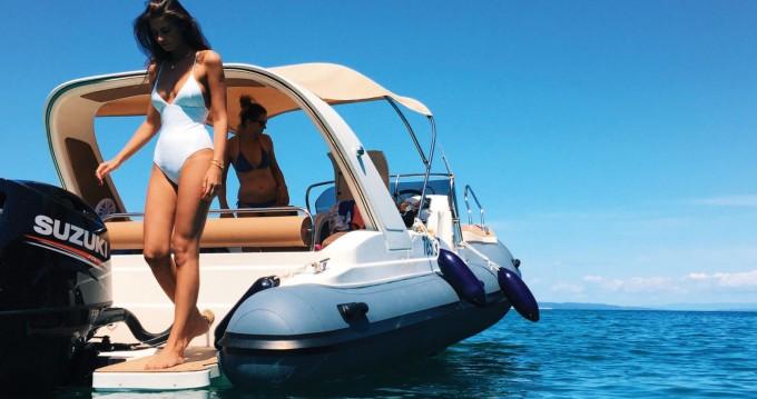 Boat rental Rab cheap B23 F