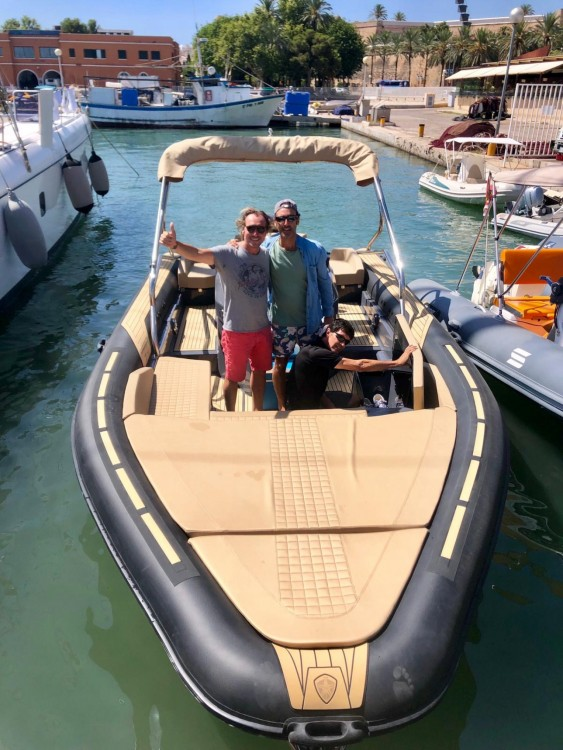 Hire RIB with or without skipper Sealver Palma