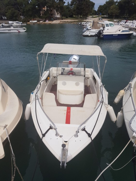 Hire Motor boat with or without skipper NAVALPLASTICA Fažana