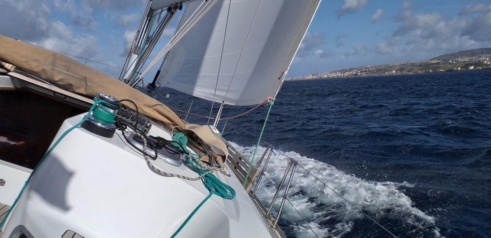 Boat rental Badalona cheap Sun Odyssey 44i