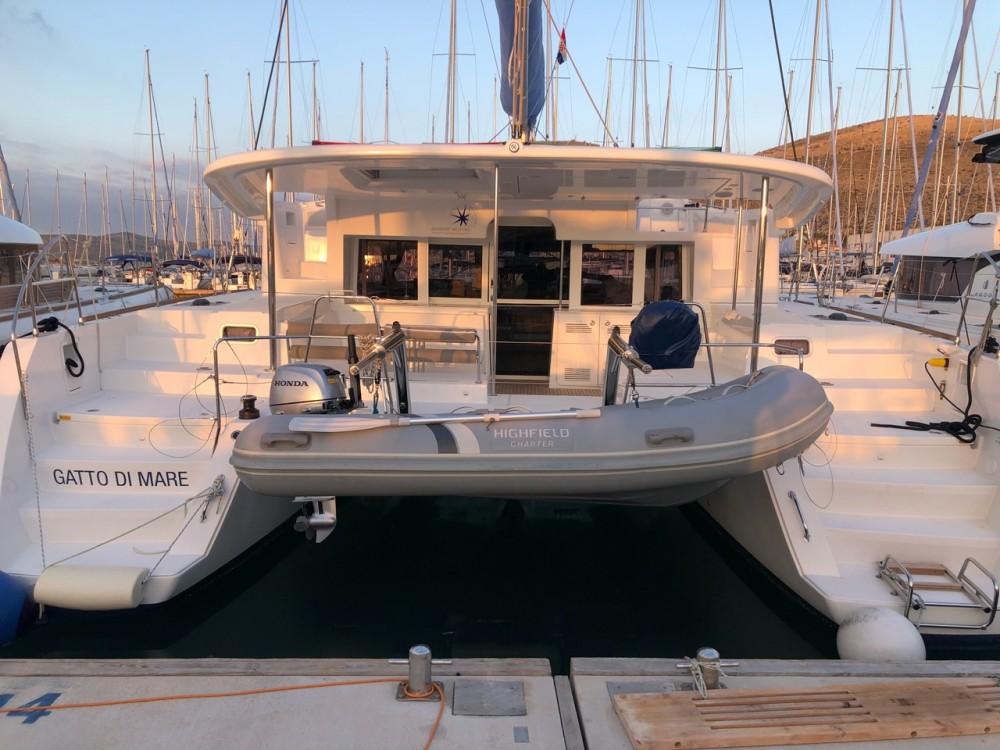 Rental yacht  - Lagoon Lagoon 450 F - 4 + 2 cab. on SamBoat