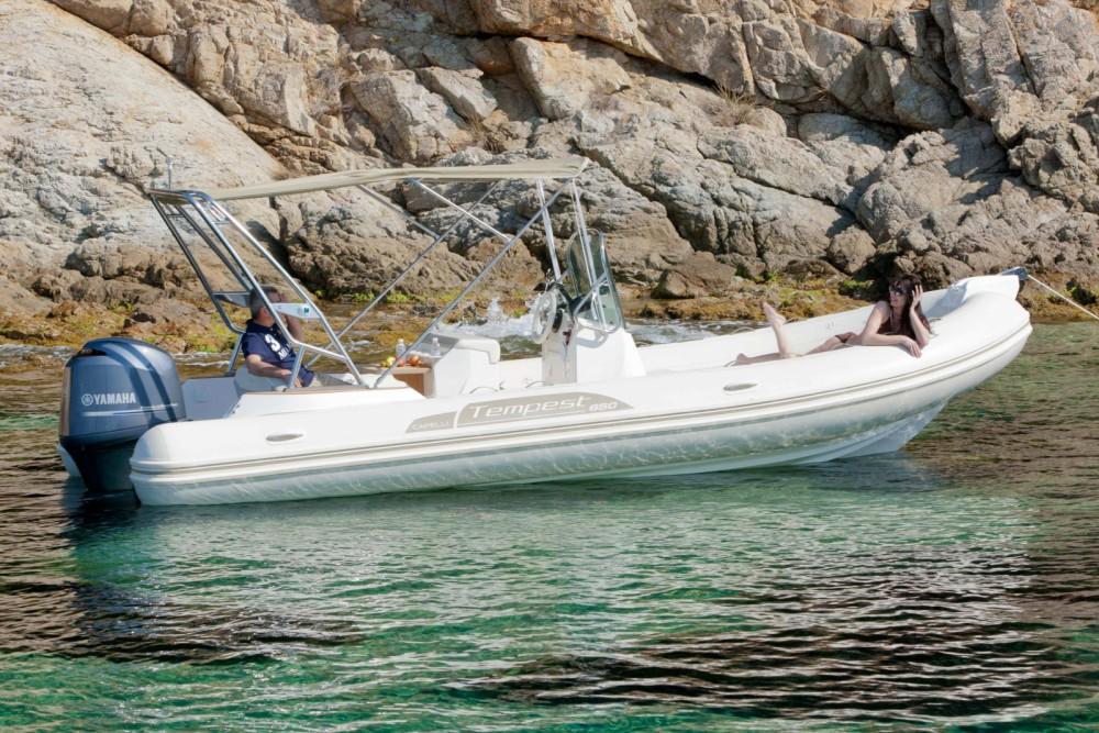 Boat rental Algajola cheap Tempest 626