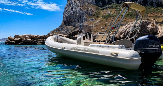 Hire RIB with or without skipper Capelli Algajola
