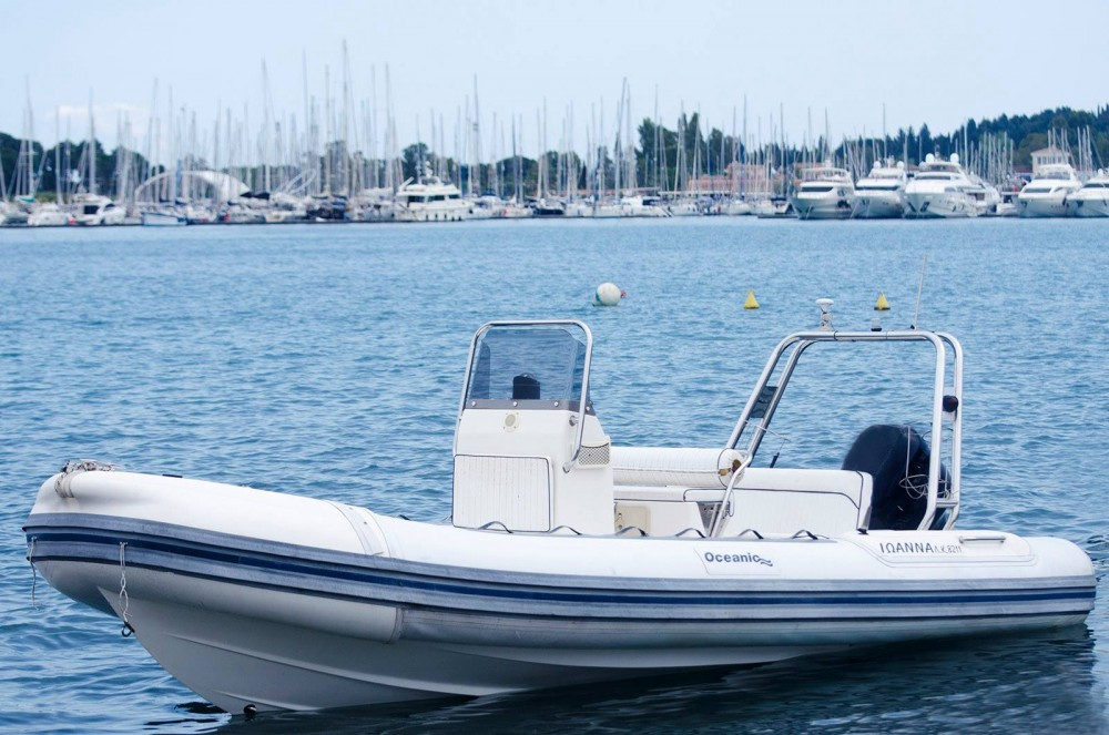Boat rental Oceanis beluga in Corfu on Samboat