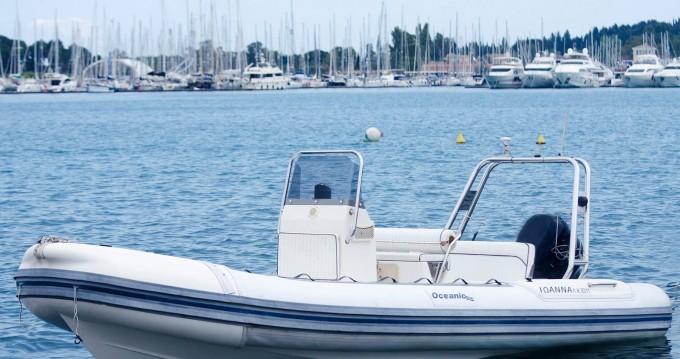 Rental RIB in Corfu - Oceanis beluga
