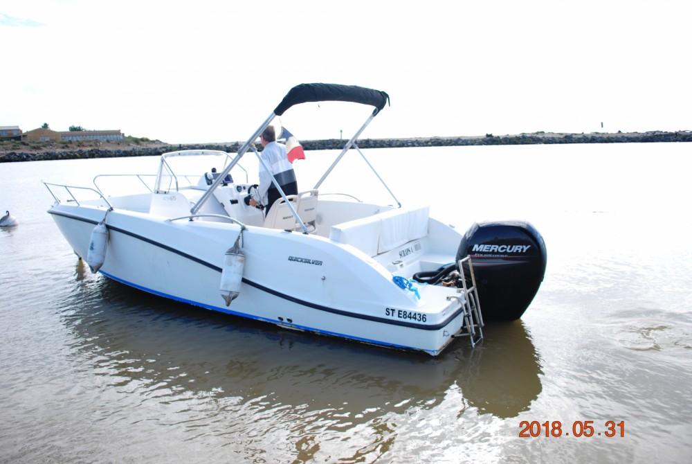 Rental Motor boat in Valras-Plage - Quicksilver Activ 675 Open