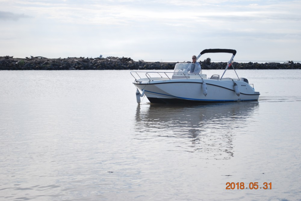 Hire Motor boat with or without skipper Quicksilver Valras-Plage