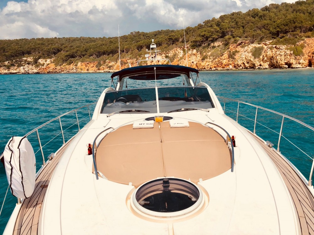 Fairline Targa 52 between personal and professional Formentera