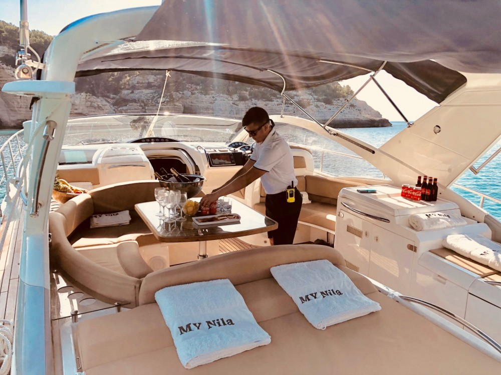 Hire Yacht with or without skipper Fairline Formentera
