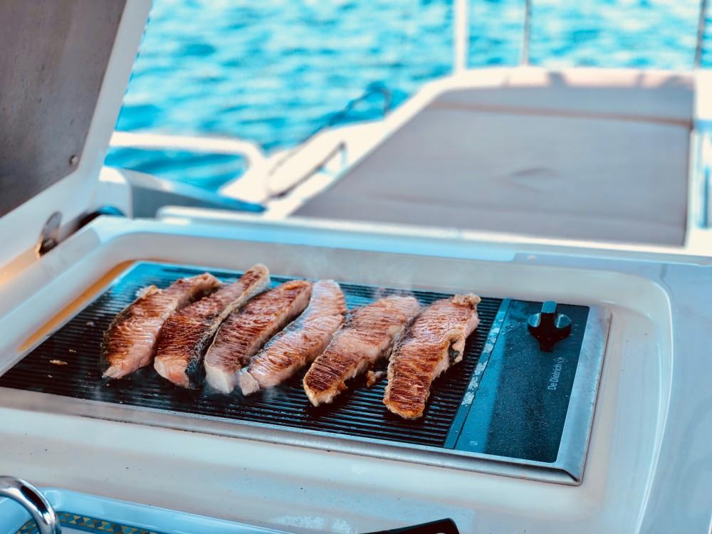 Boat rental Formentera cheap Targa 52