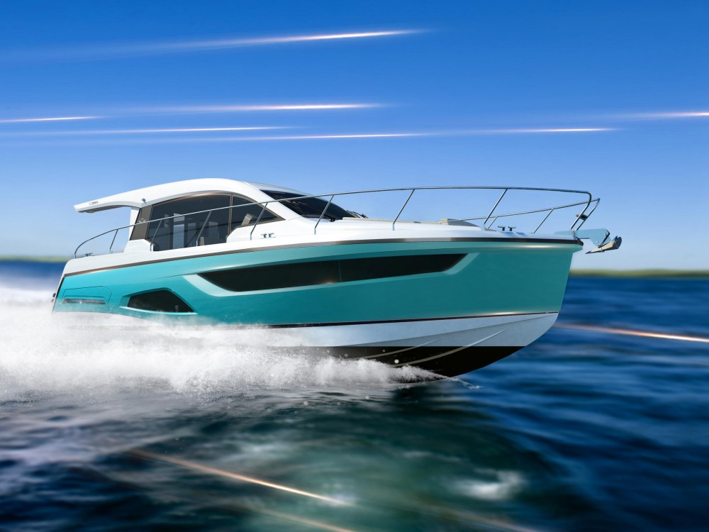 Boat rental Pula cheap Sealine C390