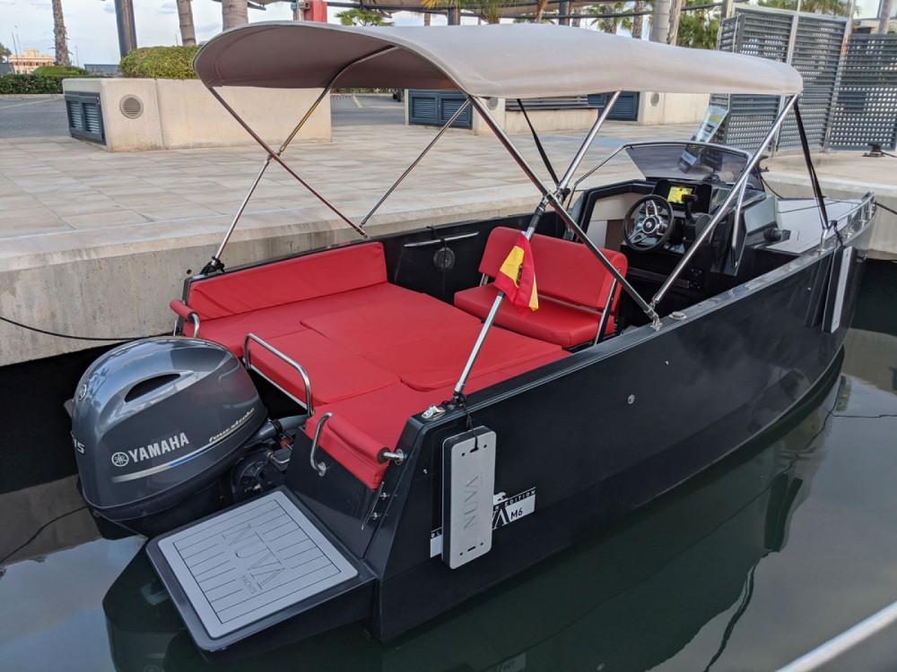 Boat rental Santa Pola cheap Nuva M6