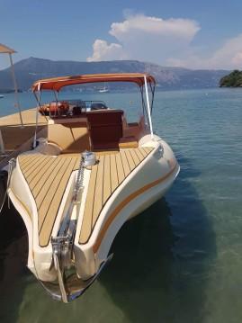 Hire RIB with or without skipper Cappo di Mare Corfu