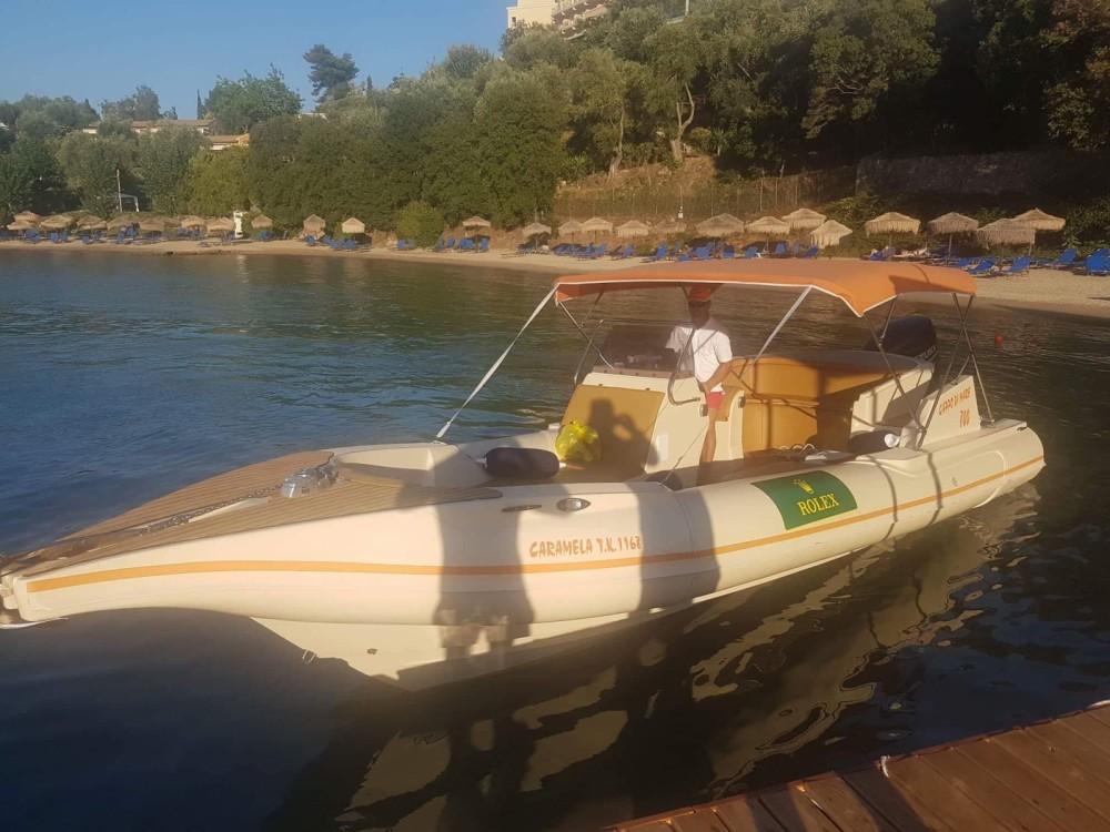 Boat rental Cappo di Mare Cappo di Mare 800 in Corfu on Samboat