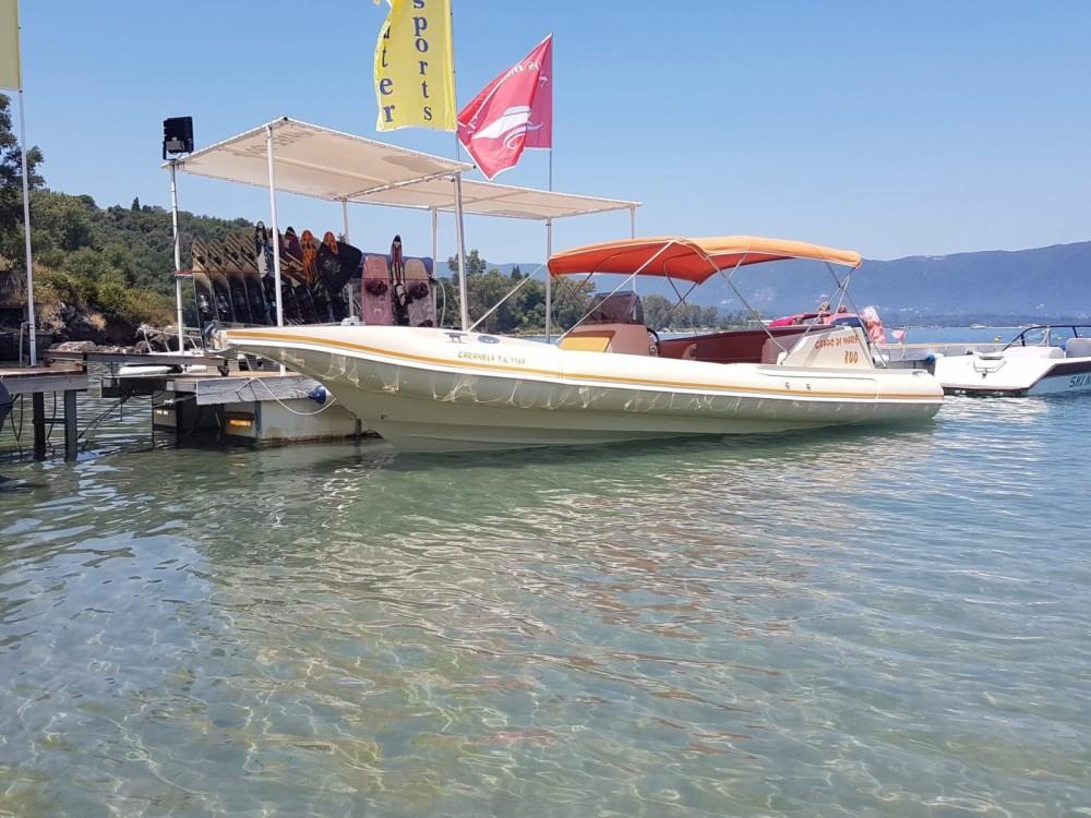 Rental yacht Corfu - Cappo di Mare Cappo di Mare 800 on SamBoat