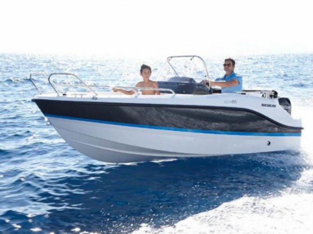 Hire Motor boat with or without skipper Quicksilver La Grande-Motte