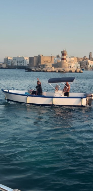 Cantiere Navale Monopoli Open 700 between personal and professional Monopoli