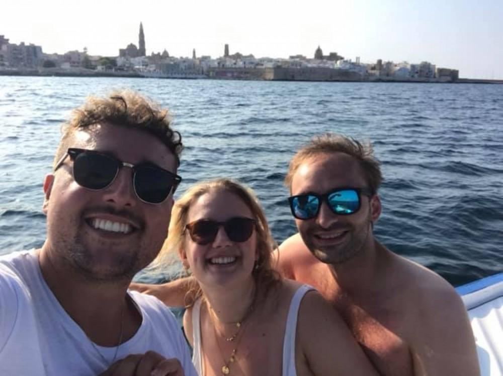Rental yacht Monopoli - Cantiere Navale Monopoli Open 700 on SamBoat