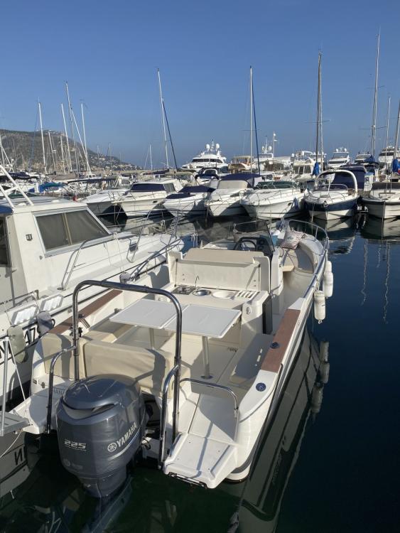 Boat rental Beaulieu-sur-Mer cheap Abaco 800 Open CC