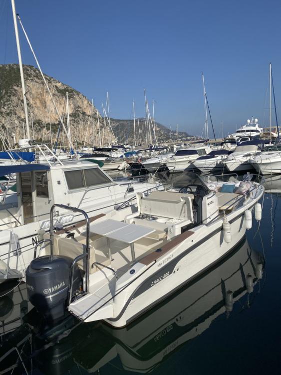 Boat rental Ocqueteau Abaco 800 Open CC in Beaulieu-sur-Mer on Samboat